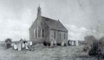 Old image of church_displayed in church_cropped